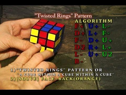 Patterns Of The Rubik's Cube Part 40 [40 Advanced Patterns Final New Rubix Cube Pattern