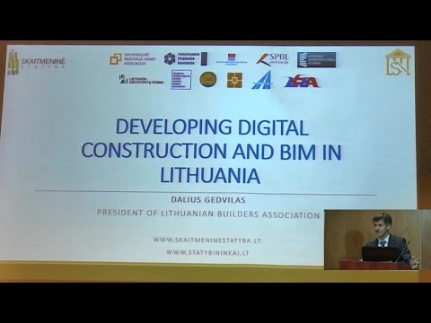 """Digital Construction"" in Lithuania and partnership with Latvia (LV)"