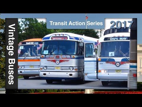 Hershey ACAA Museum Bus Parade 2017 - Transit Action Series