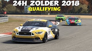 24H ZOLDER 2018 / Qualifying • GT • 24H SERIES 2018