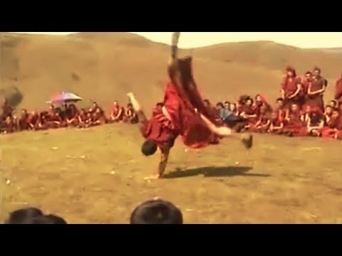 What if the Tibetan Monks were Violent?