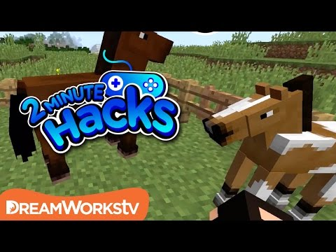 How To Tame Horse In Minecraft