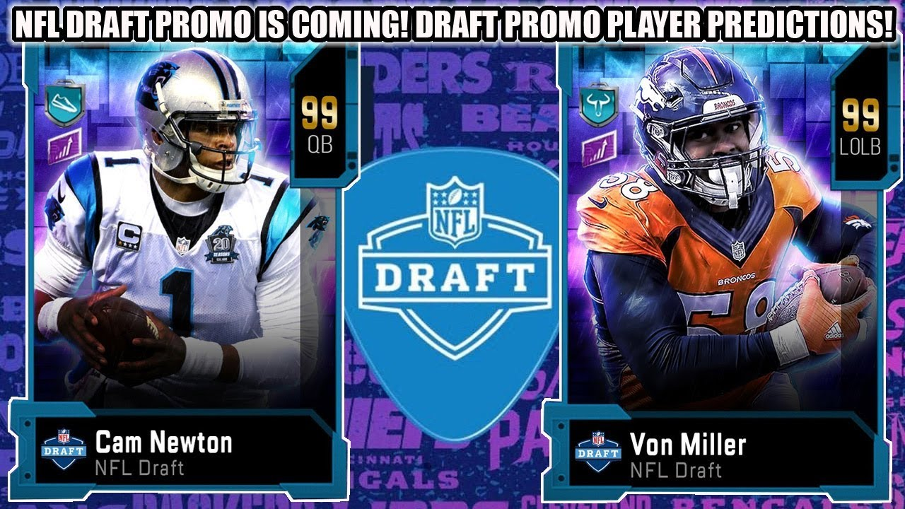 NFL DRAFT PROMO IS COMING! NFL DRAFT PROMO PLAYER PREDICTIONS! | MADDEN 20 ULTIMATE TEAM