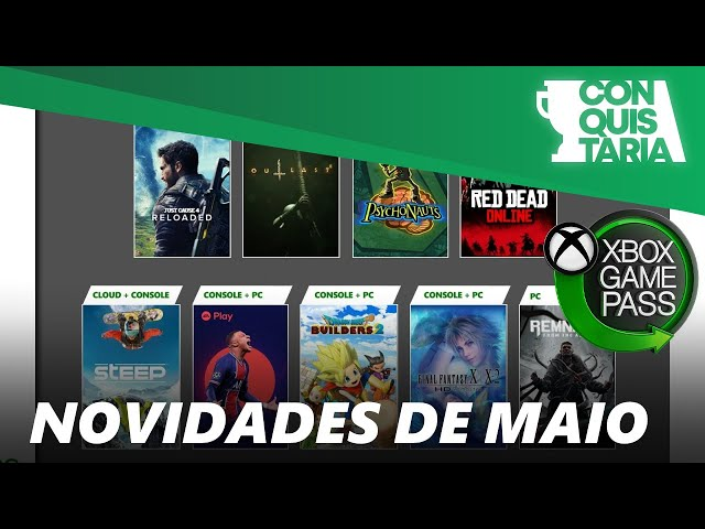 FIFA, Final Fantasy, Dragon Quest, Red Dead, Ubisoft e mais no Xbox Game Pass em maio