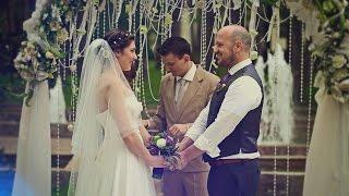 Свадебный клип Оксана и Дэвид (Украино-Американская свадьба)