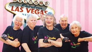 ニュージーランドに在住する平均年齢83歳のダンスグループが、ラスベガ...