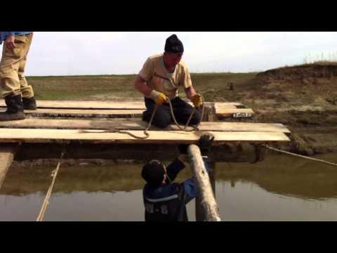 Кĕпер хывни -- Как мы весной строим мост