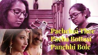 Pachchai Thee/ Pacha Bottasi/ Panchhi Bole- Baahubali (Veena Cover)