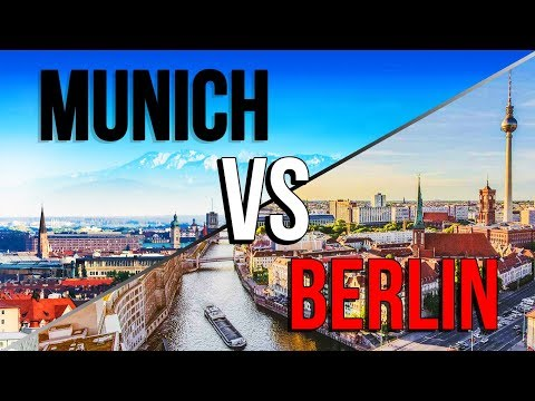 BERLIN🐻 VS MUNICH🍺 | Which Is The...
