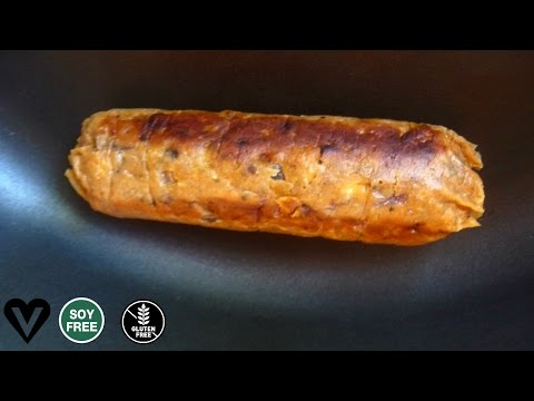 Smoked Apple Sage Sausages   Vegan, Soy, Oil & Gluten-Free   AV Show 35