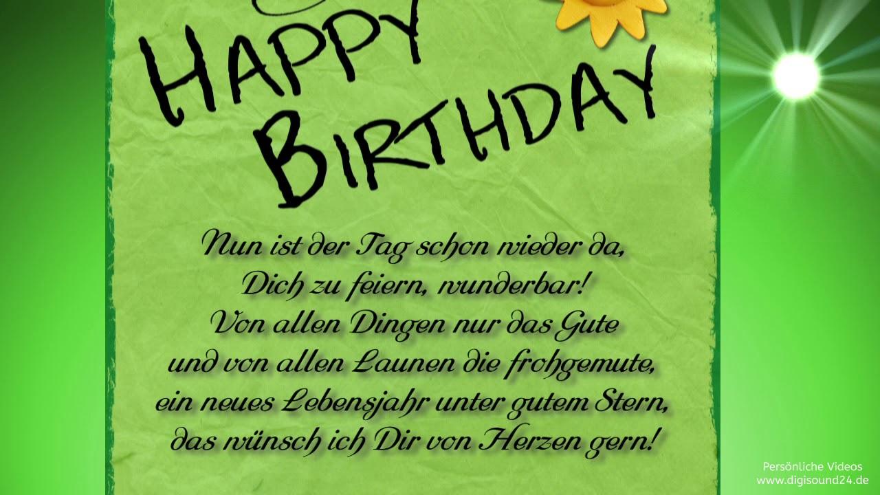 Geburtstagswünsche Lustig Geburtstagsgrüße Per Whatsapp
