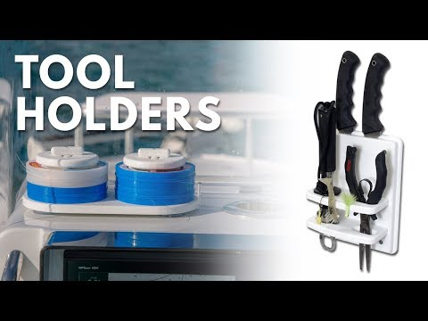 Tool Holders For Your Boat   Knives, Pliers, Leaders & More