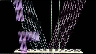 Cover images 【Black MIDI】ghostbusters main theme 8.38 Million(midi trail)