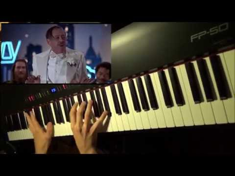 The Blues Brothers - Minnie The Moocher (piano cover)