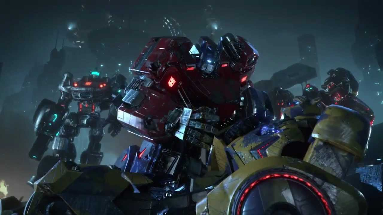 vga cinematic trailer official transformers fall of cybertron