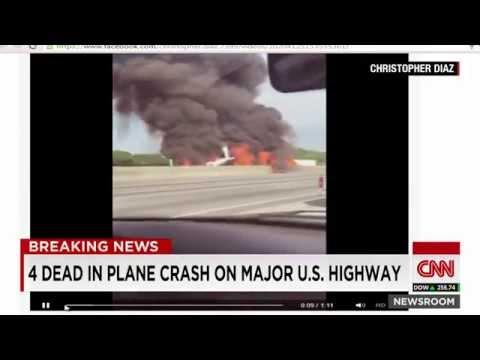 BREAKING NEWS: 4 DEAD IN PLANE CRASH IN ATLANTA, GA!!!