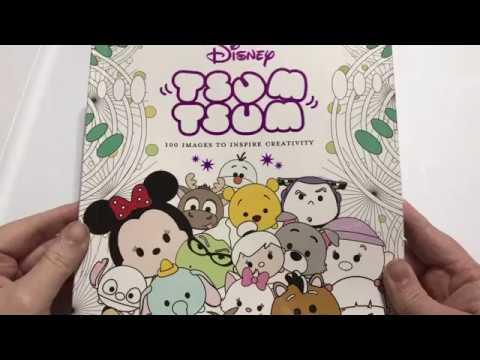 Disney Tsum Tsum Coloring Book Flip Through And Review Youtube