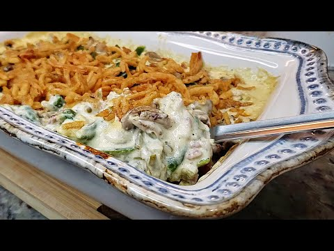 green-bean-casserole-|-green-bean-casserole-recipe-|-mushroom-cream-sauce-recipe