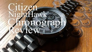 Stealth Nighthawk Review, Citizen Chronograph CA0295-58E