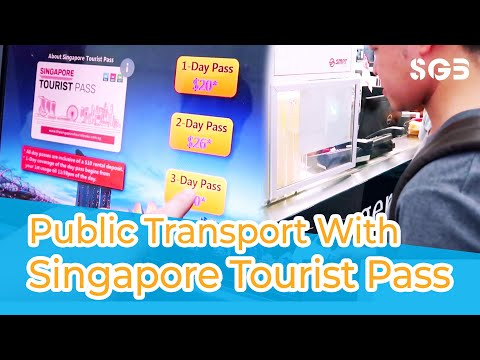Singapore Tourist Pass for Public Transport (Indonesian Translation)