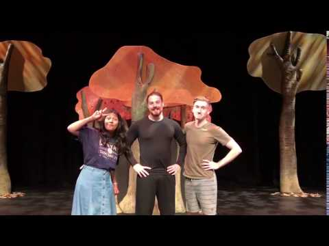 The Gruffalo cast say hi to Dunedin