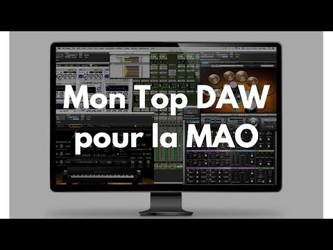 Mon Top séquenceur audio/DAW pour la MAO [Mixage en Home Studio]