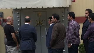 Saudi delegation arrives at consulate in Istanbul