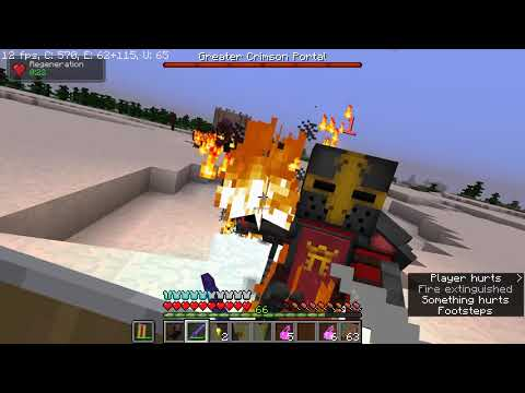 Magical Minecraft Ep 30 THE CRIMSON PORTAL