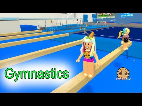 Gymnastics + Rollerskating ! Let\'s Play Roblox Fun Video Games