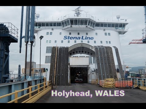 Day trip from Dublin to Holyhead by Foot-Stena Line