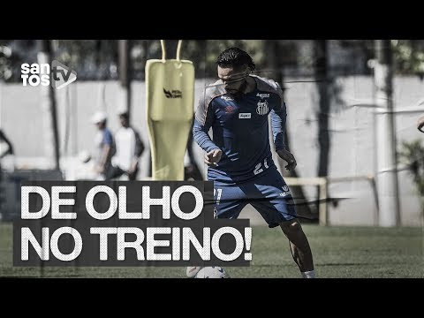 PARA SE MANTER NO TOPO, SANTOS TREINA NO CT | DE OLHO NO TREINO (22/08/19)