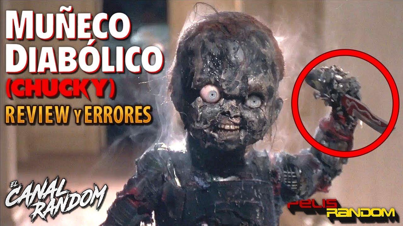 ERRORES de películas CHUCKY El Muñeco Diabólico Review Crítica y Resumen