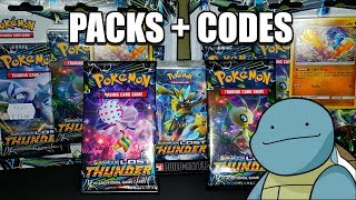 Lost Thunder Products Opening  & Promo Codes GIVEAWAY! - Pokemon TCG