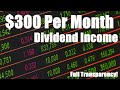$300/month in dividends | My Dividend Growth Investing Journey | Dividend Portfolio May 2017
