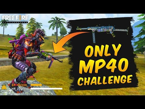 Only Mp40 Challenge | Garena Free Fire Brasil