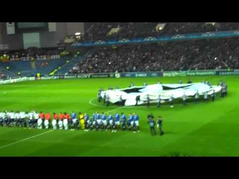 Rangers V Valencia CL Theme and Derrys Walls