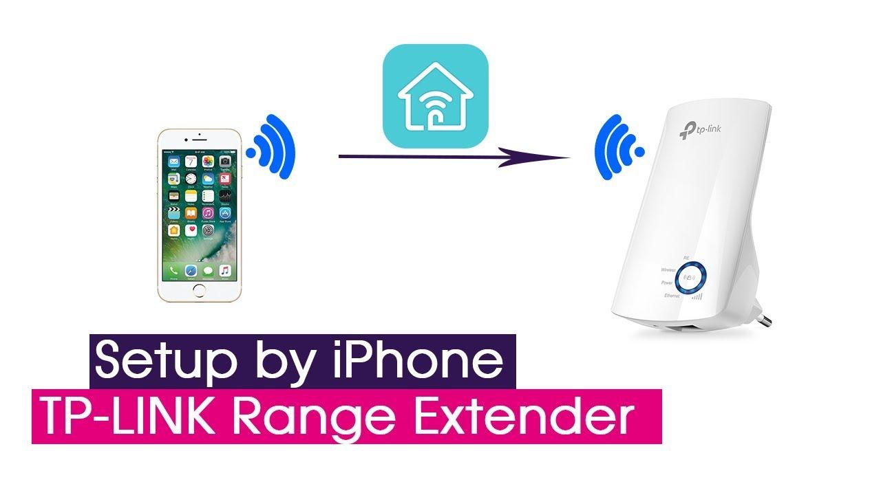 Setup TP-LINK Range Extender by iPhone