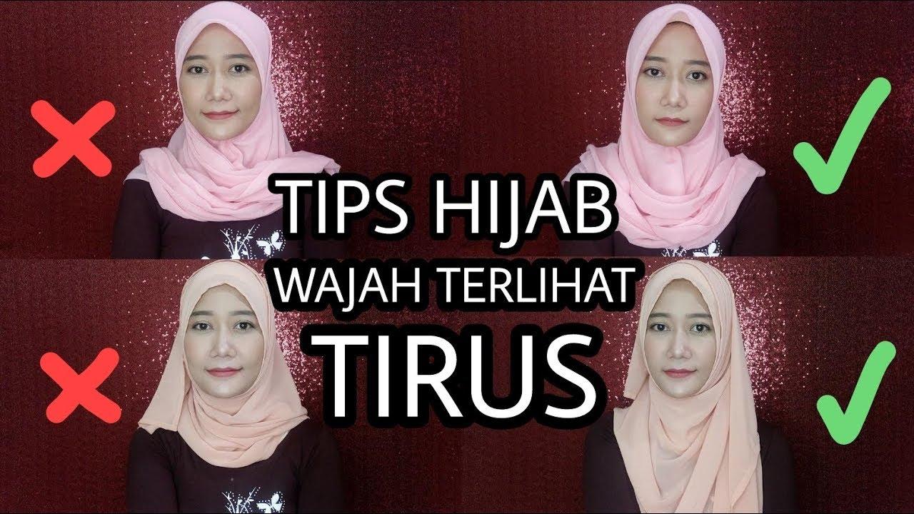 Model Jilbab Untuk Wajah Bulat Tembem Hijab Batik