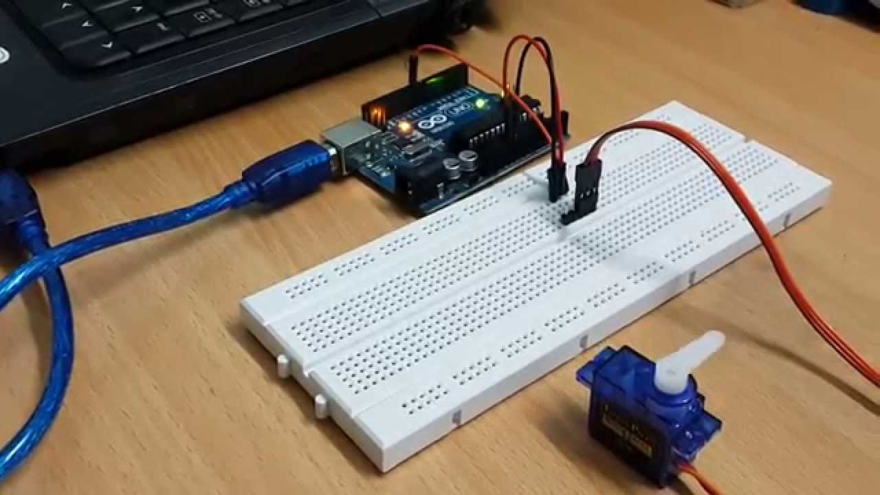 Controlling micro servos using arduino uno youtube