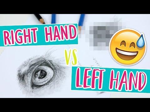 Left Hand VS Right Hand CHALLENGE!!
