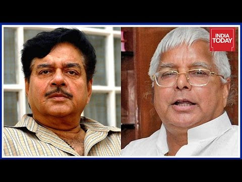BJP's Rebel MP Shatrughan Sinha Comes Out Supporting Lalu In Assets Scam