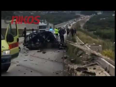 Φορτηγό συγκρούστηκε με ΙΧ. στην Πατρών – Κορίνθου. Ένας νεκρός