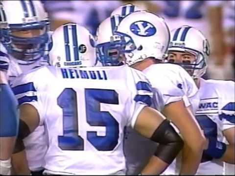 1994 Copper Bowl - #21 BYU vs Oklahoma Sooners
