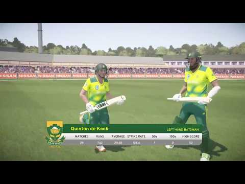 Don Bradman Cricket 17 Live Stream - England Vs South Africa T20 Live