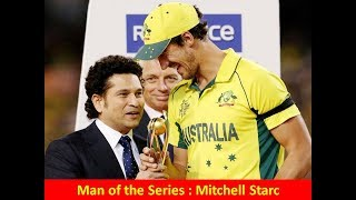 ICC CRICKET WORLD CUP WINNERS , RUNNER UPS, MAN OF THE MATCH,MAN OF THE SERIES LIST SINCE 1975 🏏