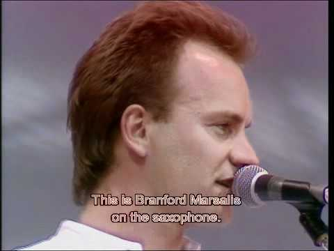 Live Aid 1985 Sting Roxanne