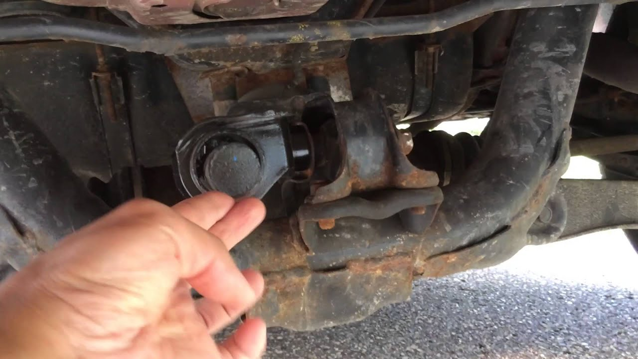 Broken And Loose Rear Dynamic Differential Damper On 1997