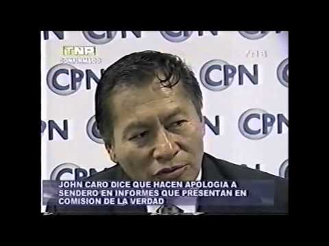 General Héctor John Caro criticó a la CVR