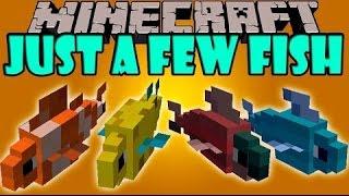 Обзор модов Minecraft #129 Just a Few Fish Mod 1.8.9/1.7.10 - Тяжелая рыбалка =)