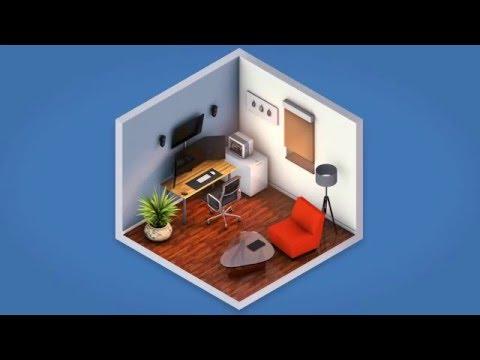 Tutorial Isometric Tv Desk Behr Doovi